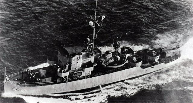 143)PCE 871 PATROL CRAFT ESC - Articles - Sixtant - War II in the South Atlantic